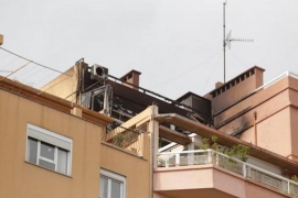 Apartment gutted by fire in Palma