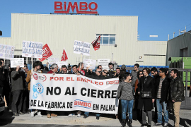 Mass protest over Bimbo closure,  another blow to Balearic industry