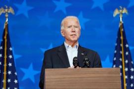 Joe Biden close to victory