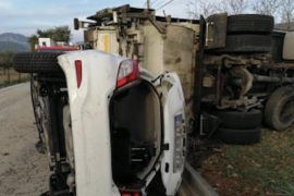 Bunyola traffic accident