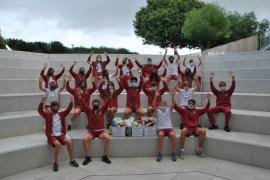 Harvest hampers at the Academy International School