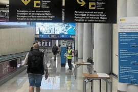 PCRs for domestic travellers arriving in Mallorca