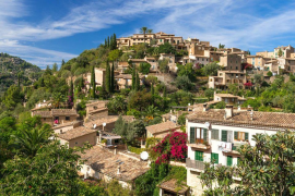 Lovely picturesque small village in the mountains of Mallorca