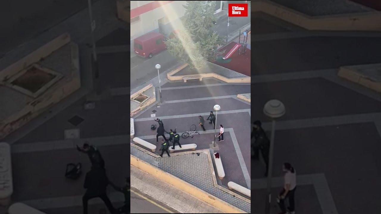 Tense arrest in Llucmajor
