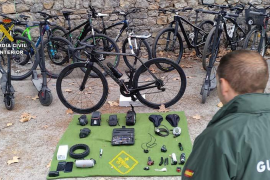 Arrest for the theft of eighty bikes