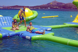 Calvia to remove beach waterparks