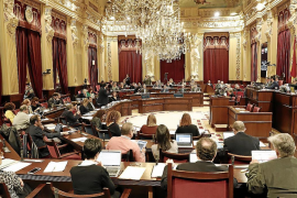 Salaries for Balearic members of parliament frozen in 2021