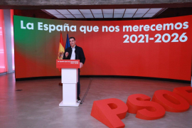"""Sánchez asks for a """"Christmas gift of safety"""""""