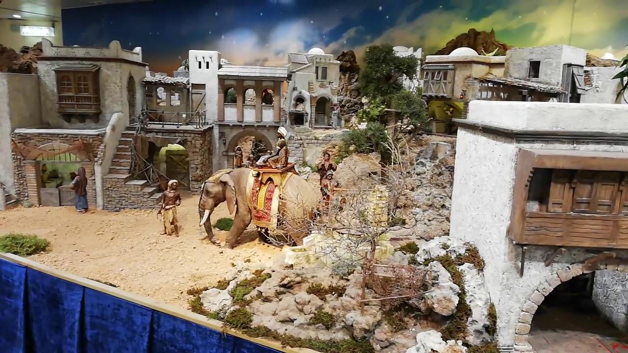 El Corte Inglés nativity scene in Palma