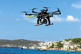 Drones to be used during holidays in Mallorca