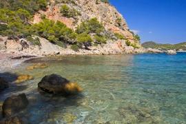 """The """"White"""" beach in Mallorca"""