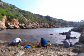 1500 volunteers to protect the Minorca coastline