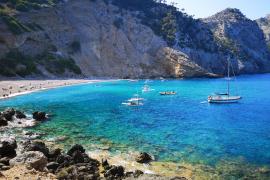 The unknown Es Coll de Baix beach in Mallorca