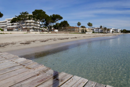 Preparing Alcudia's beaches for 2021