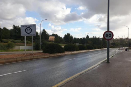 Blunder over speed signs in Palma