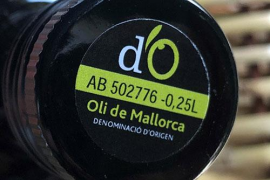 Typical Majorcan olive oil!