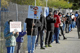 Protest against Concrete Factory in Palma