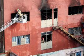 Blaze in migrant squat near Barcelona kills at least three, 23 injured