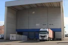 Amazon has a temporary warehouse in Palma