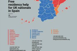 Residency support for UK Nationals in Spain