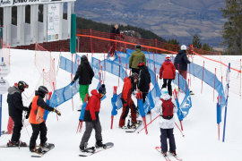 Skiers hit slopes in Catalonia after COVID-19 restrictions are eased