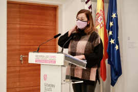 Balearic president offers her Christmas thanks