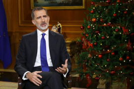 "King Felipe calls for ""great national effort"" in moving forward"