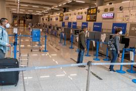 Passengers at Palma Son Sant Joan Airport