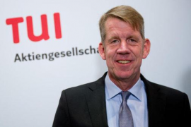 Tui's executive chairman, Fritz Joussen