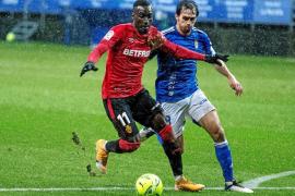 Mallorca draw 2-2 in the pouring rain