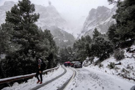 The big freeze continues in Mallorca