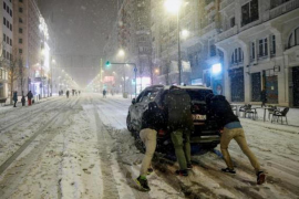 Storm Filomena causes chaos in Spain