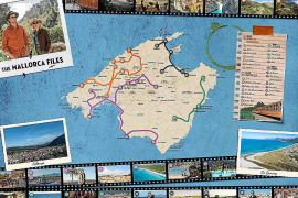 Map of locations for The Mallorca Files