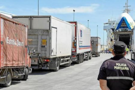Storm 'Filomena' delays supplies to Mallorca