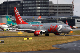 Jet2 at Gatwick airport