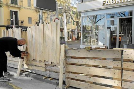 Remove Palma parking space terraces or be fined!