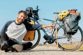 Mallorcan journalist puts the pedal to the metal