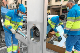 Filtered drinking water fountains being installed in Palma