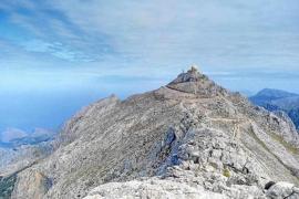 Puig Major summit is a no go area