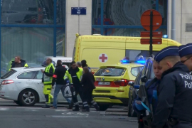 Explosions hit Brussels airport, metro station at least 28 killed