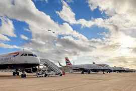 British Airways now has 38 planes parked up at Palma airport