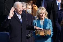 """Joe Biden calls for an end to """"uncivil war"""""""