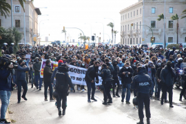 Palma hospitality sector protest passes off without incident