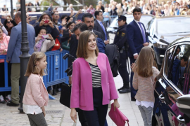 Royal Family celebrates Easter Sunday mass in Palma