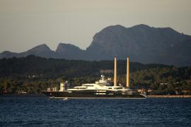 Yacht Serene seen in Puerto Alcudia
