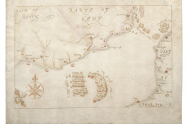 Museum buys rare hand-drawn maps of Spanish Armada to keep them in England