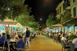 Terraces in Palma will have limits on the number of tables