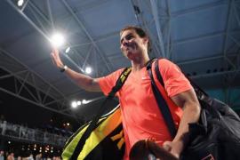 Rafa Nadal serves up a win down under