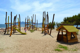The continuing story of Puerto Pollensa's beach playgrounds