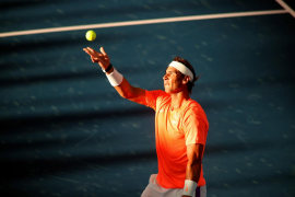Unusual circumstances, but time to talk tennis for Nadal